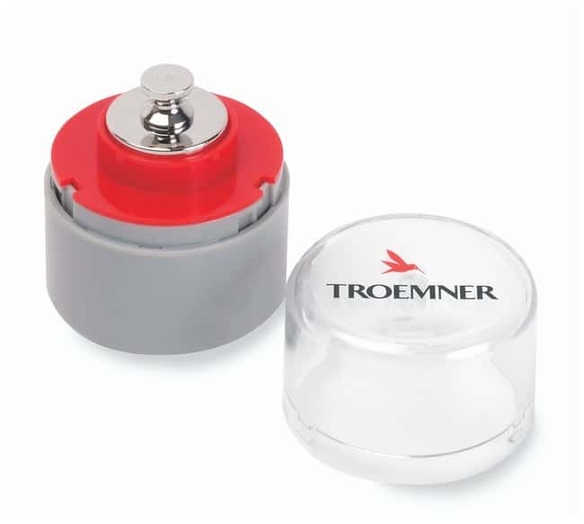 Troemner™ Individual Analytical Precision Weights, Class 3 with NVLAP Certificate