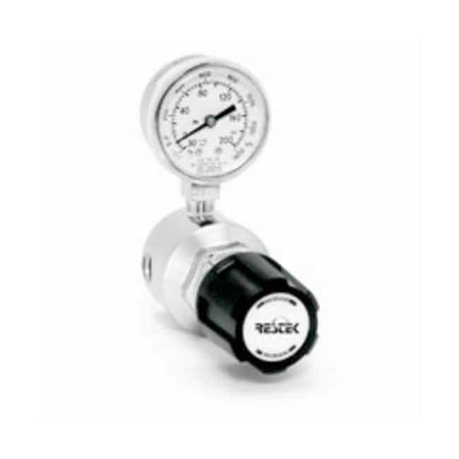 RestekUltra-High Purity Chrome-Plated Brass Line Gas Regulator Outlet gauge: