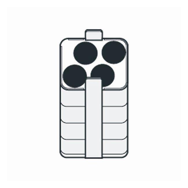 Eppendorf Refrigerated Multipurpose Centrifuge 5804 R Rectangular Bucket