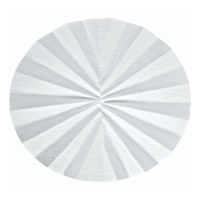 Cytiva (Formerly GE Healthcare Life Sciences) Whatman™ Qualitative Filter Paper: Grade 597½ Pleated Circles Diameter: 320mm Cytiva (Formerly GE Healthcare Life Sciences) Whatman™ Qualitative Filter Paper: Grade 597½ Pleated Circles