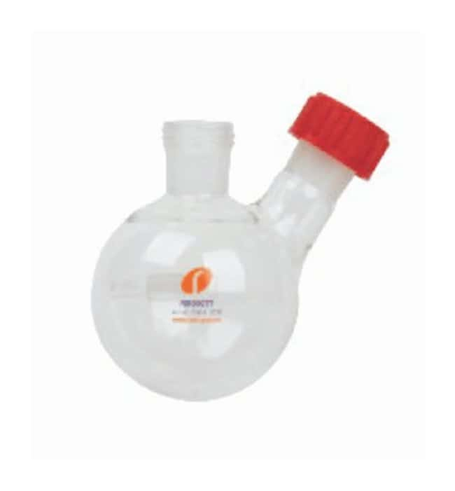 Heidolph Glassware - Round Bottom Flasks With 24/29 socket and 19/26 sidearm;