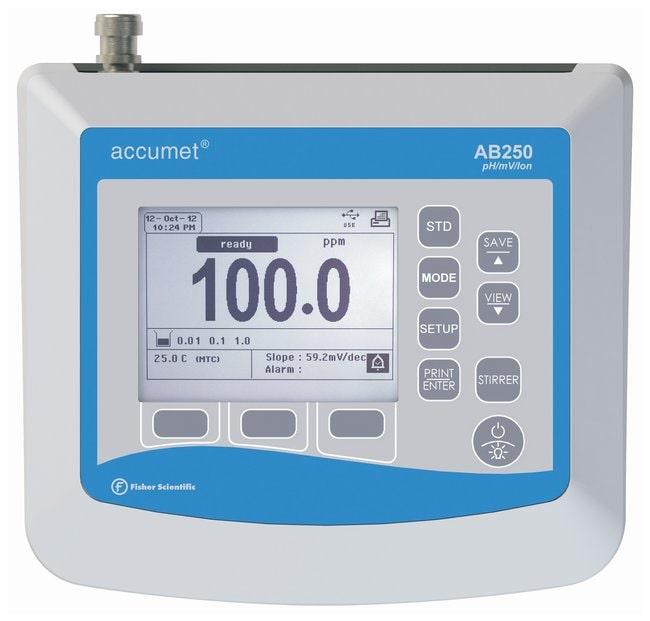 Fisherbrand™accumet™ AB250 pH/ISE Benchtop Meters: Multiparameter Meters Electrochemistry