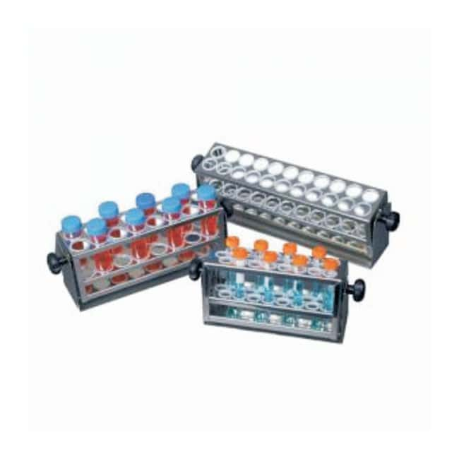 Eppendorf™ Scientific Test Tube Racks Small; Capacity: 48 tubes; Tube Size: 8 to 11mm Products