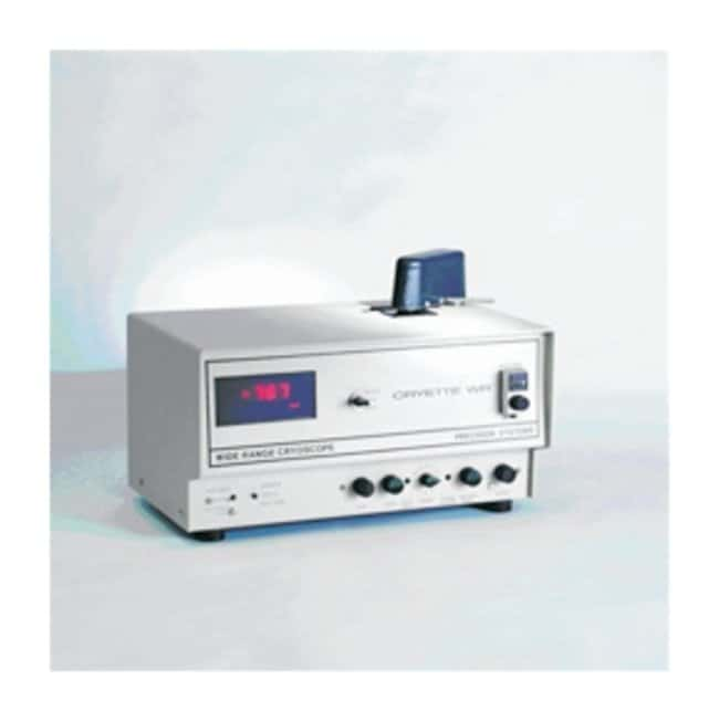 Precision Systems Cryette A and Cryette WR Cryoscopes:Spectrophotometers,