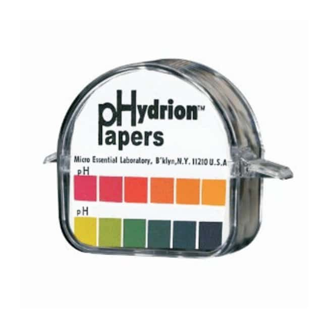 Micro Essential LabHydrion Double Roll pH Test Paper Dispensers pH-range: