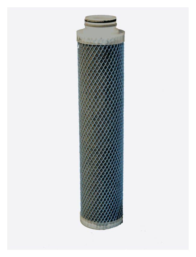 Merck™Water Purification Cartridges: 4 x 20 in. Carbon Cartridge 4 x 20 in. Carbon Cartridge Filters and Cartridges for Water Purification