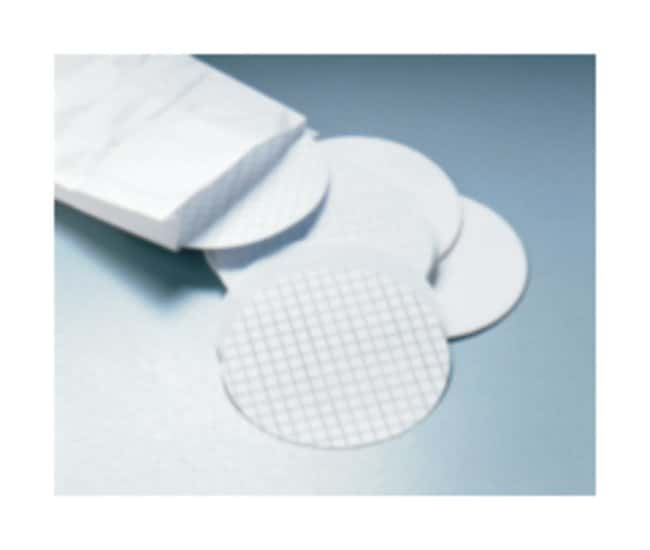 Merck Millipore Microbiological Analysis Membrane Filters, Gridded 0.45μm Pore size; White/gridded; Sterile Merck Millipore Microbiological Analysis Membrane Filters, Gridded