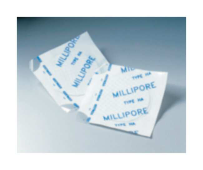 Merck MilliporeMicrobiological Analysis Membrane Filters, Gridded S-Pak Sterile Membrane Filter; Filter Pore Size: 0.7μm; Color: White Merck MilliporeMicrobiological Analysis Membrane Filters, Gridded