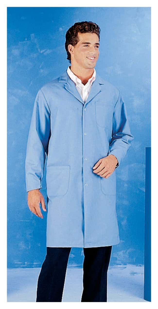 Superior Uniform Worklon Static-Controlled Lab Coat Size: Large:Gloves,