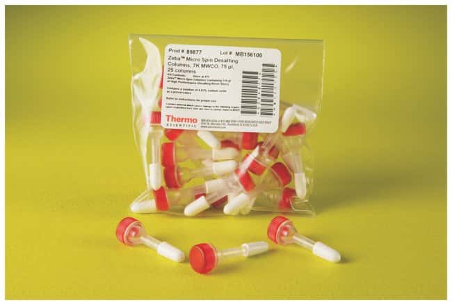 Thermo Scientific™ Zeba Spin 7K MWCO Desalting Columns: Dialysis and Desalting Protein Biology