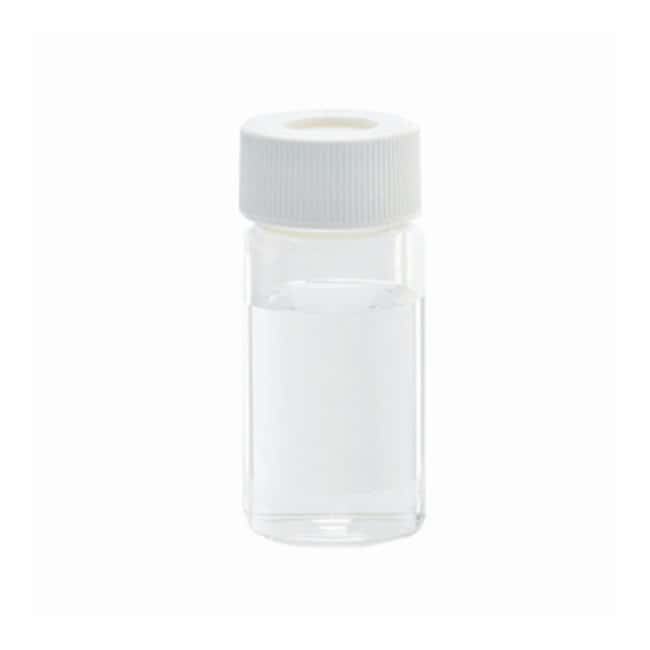 DWK Life Sciences Wheaton™ Clear Vials for Environmental Analysis, with Caps Attached