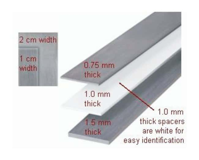 Hoefer™Plate and Spacers for SE 660 Vertical Electrophoresis Unit Spacer Set; 1.5mm thick Hoefer™Plate and Spacers for SE 660 Vertical Electrophoresis Unit