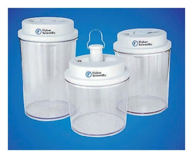 Fisherbrand Circular Bottom Desi Vac Container Desiccators with