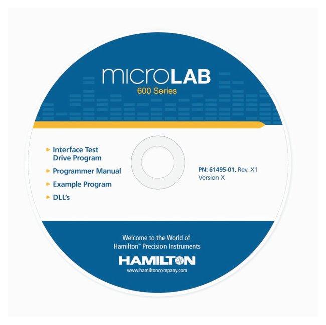 Hamilton™Microlab™ 600 Diluter/Dispenser System Custom Programmer Kit Hamilton™Microlab™ 600 Diluter/Dispenser System