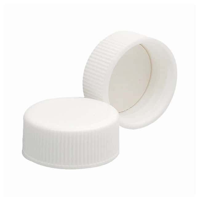 DWK Life SciencesWheaton™ White Polypropylene Caps with Foamed Polyvinyl Liners Cap size: 24mm-400 Products