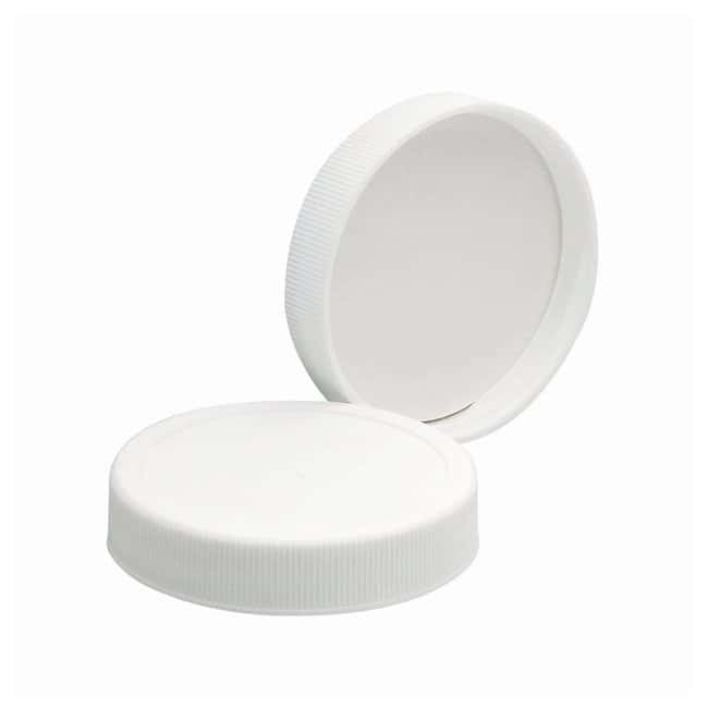 DWK Life Sciences Wheaton™ White Polypropylene Caps with Foamed Polyvinyl Liners Cap size: 53mm-400 Products