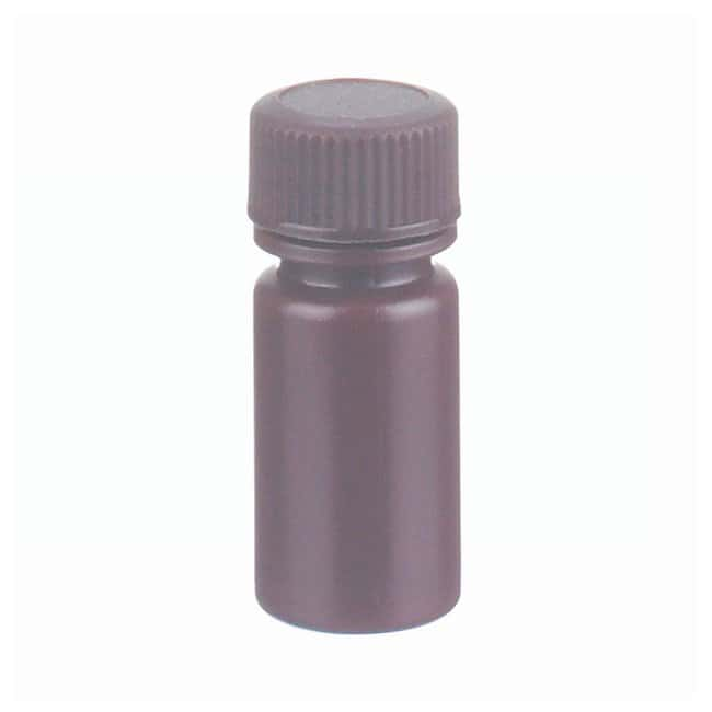 DWK Life Sciences Wheaton™ Leak-Resistant HDPE Bottles with Caps Capacity: 0.1 oz. (4mL); 72/Cs. DWK Life Sciences Wheaton™ Leak-Resistant HDPE Bottles with Caps