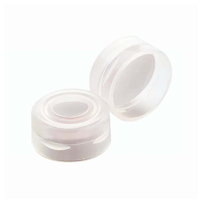 DWK Life Sciences Wheaton™ Snap Caps for Wheaton E-Z™ Vials With PTFE/Silicone Septa; Clear DWK Life Sciences Wheaton™ Snap Caps for Wheaton E-Z™ Vials