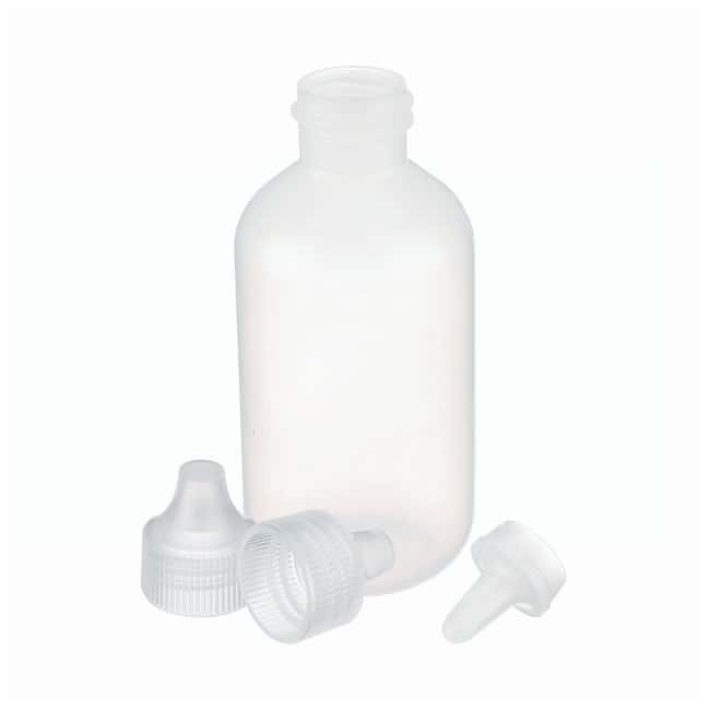 DWK Life Sciences Wheaton™ LDPE Dropping Bottles With Streaming Tips and Polypropylene Caps 60mL DWK Life Sciences Wheaton™ LDPE Dropping Bottles With Streaming Tips and Polypropylene Caps