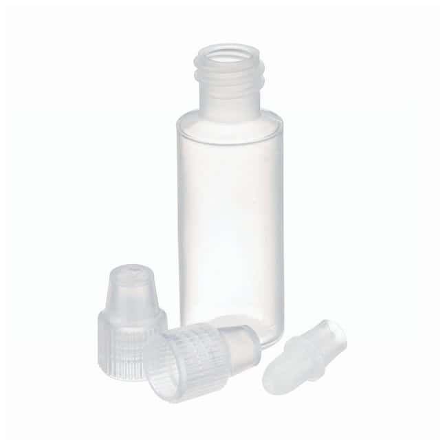 DWK Life Sciences Wheaton™ LDPE Dropping Bottles with Extended Controlled Dropper Tips and Polypropylene Dropper Tip Caps 3mL; Natural DWK Life Sciences Wheaton™ LDPE Dropping Bottles with Extended Controlled Dropper Tips and Polypropylene Dropper Tip Caps