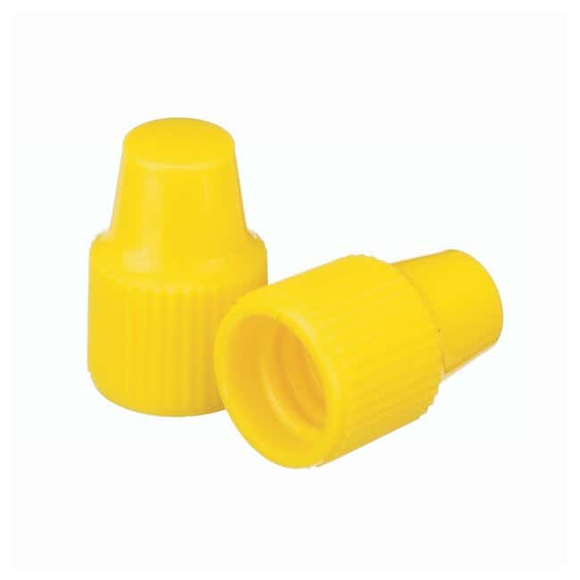 DWK Life Sciences Wheaton™ Polypropylene Caps for Wheaton Dropping Bottles - Yellow Screw cap size: 8-425; 1000/Cs. Products
