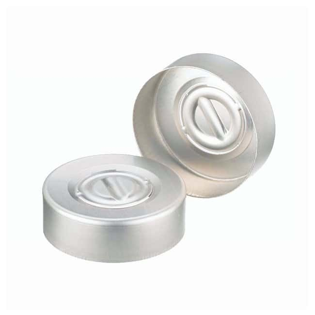 DWK Life SciencesWheaton™ Center Disc Tear-Out Aluminum Seals, Unlined: Autosampler Vial Caps and Closures Autosampler Vials, Caps, and Closures