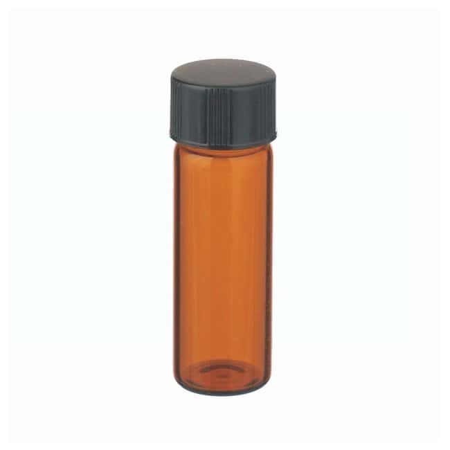 DWK Life Sciences Wheaton™ Glass Sample Vials in Lab File With Caps Attached