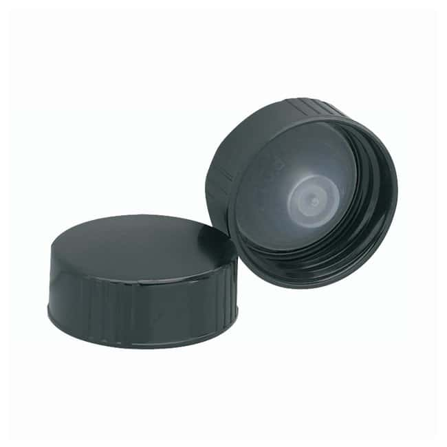 DWK Life SciencesWheaton™ Black Phenolic Screw Caps With PE Poly-Seal Liner