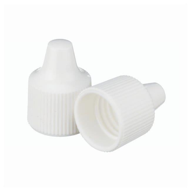 DWK Life Sciences Wheaton  Polypropylene Caps for Wheaton Dropping Bottles - White