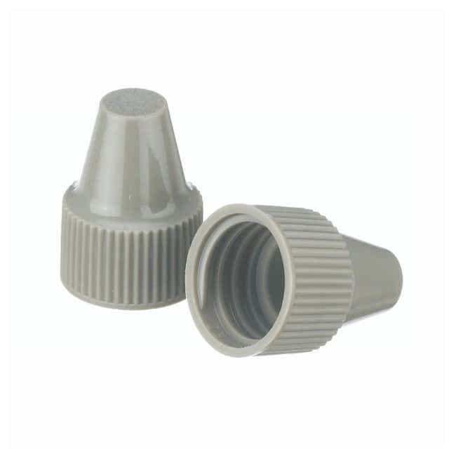 DWK Life Sciences Wheaton  Polypropylene Caps for Wheaton Dropping Bottles - Gray