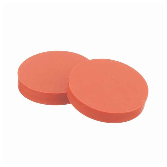 DWK Life Sciences Wheaton Septa for Open-Top Caps 15mm, PTFE-faced natural