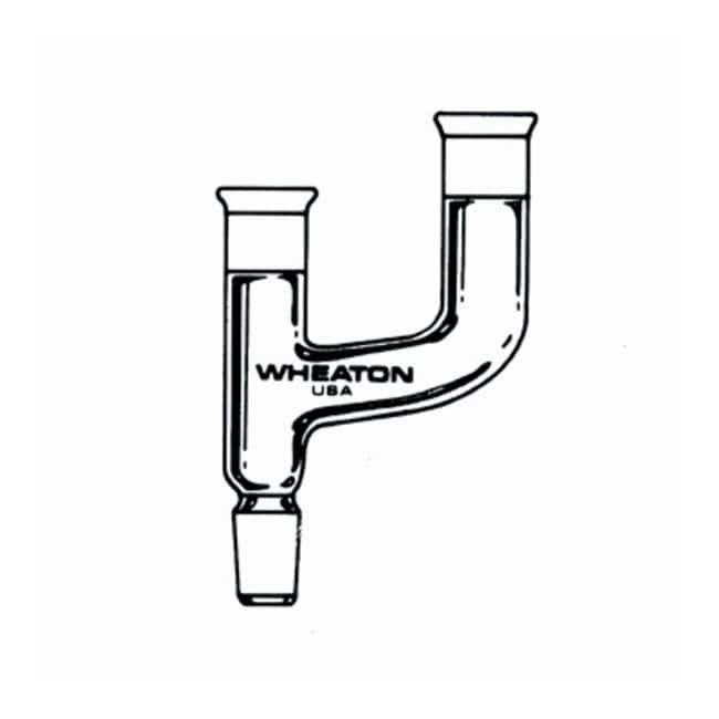 DWK Life Sciences Wheaton Micro Kit and Accessories Claisen Adapter; Joints: