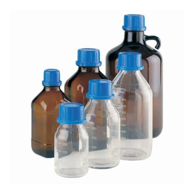 DWK Life Sciences520 Bottle-Top Dispenser Reservoirs Reservoir; Neck Dia.: 33mm; Capacity: 500mL; Color: Amber DWK Life Sciences520 Bottle-Top Dispenser Reservoirs
