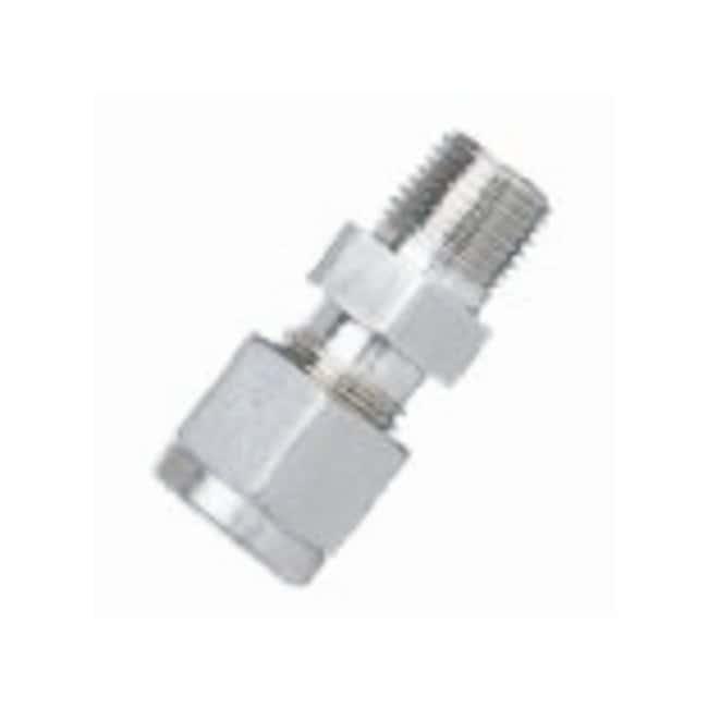 Merck MilliporeAdaptadores de tubos Conecta NPTM 0,3cm (1/8 in) a tubo de 0,6cm (1/4 in) Merck MilliporeAdaptadores de tubos