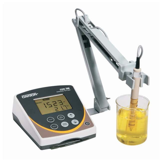Oakton™pH 700, CON 700, pH-CON 700 pH/Conductivity Benchtop Meters, Measures conductivity, TDS and temperature: Electrochemistry pH and Electrochemistry