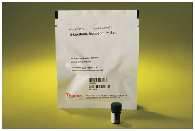 Thermo Scientific Pierce D-Luciferin, Monopotassium Salt :Life Sciences:Molecular