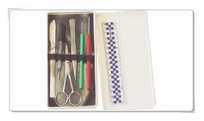 DR Instruments Dissecting Kit With Screw-lock-blade <img src=