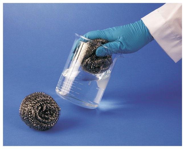 Bel-Art SP Scienceware Cleanware Stainless-Steel Glassware Sponge/Scrubber