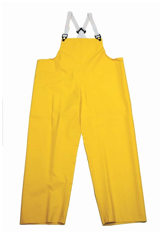 Neese Magnum 45 Rainwear Trousers; Bib, Yellow; X-Large:Gloves, Glasses