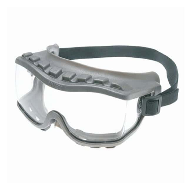 Honeywell Uvex Strategy Safety Goggles Gray frame; Direct vent:Gloves,