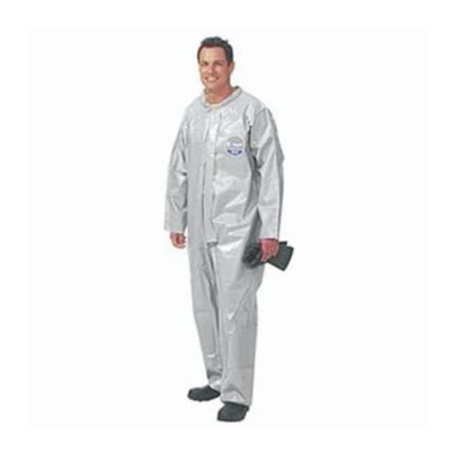 Kappler Zytron 200 Coveralls Bound seams; Plain wrists and ankles; 2X-Large:Gloves,