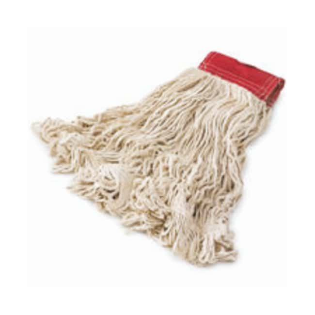 Rubbermaid Super Stitch Cotton Looped End Wet Mops Large; 6/Pk.:Gloves,