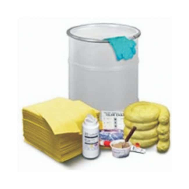 NPS Corp. Spilfyter Cellulose Sorbent Spill Kits 76L (20 gal.); Absorbs