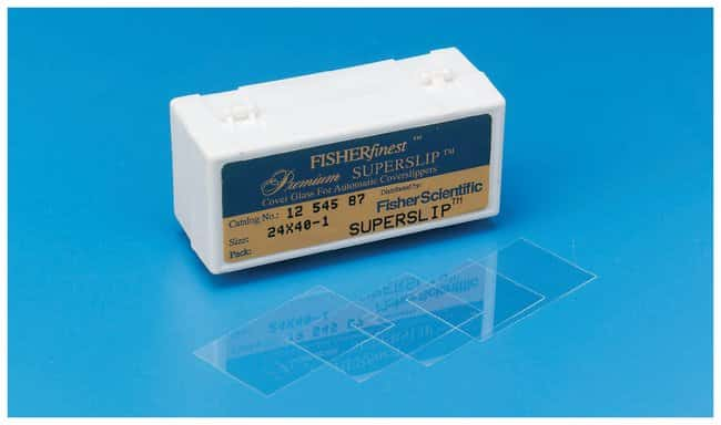 Fisherbrand Superslip Cover Slips:Microscopes, Slides and Coverslips:Coverslips