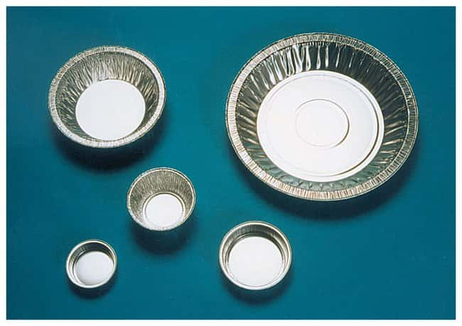 Fisherbrand™ Disposable Aluminum Dishes with Fluted Sides: Dishes Dishes, Plates and Flasks