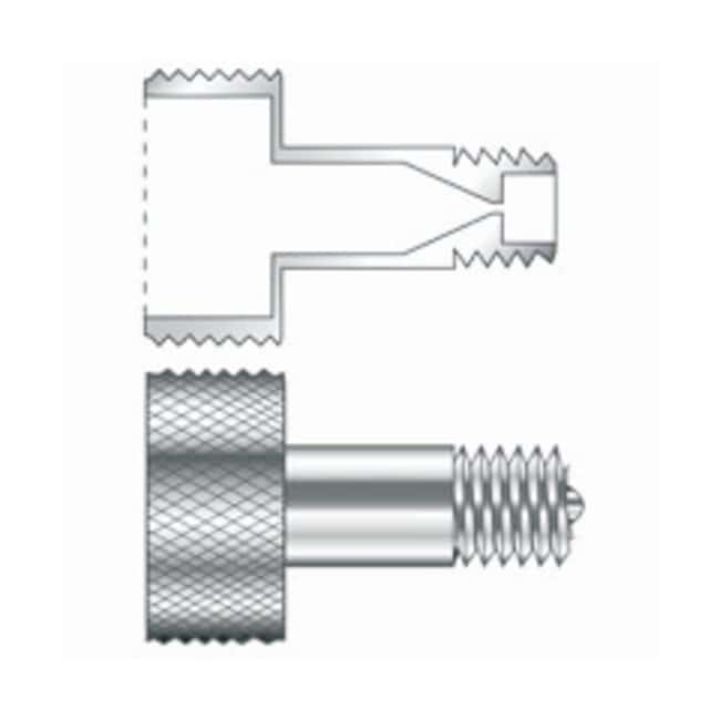 Restek™ fingertight column nuts