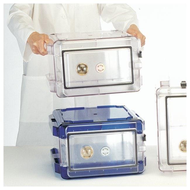 Bel-Art™SP Scienceware™ Secador™ Standard Desiccator Cabinets: Horizontal Model 1.0 Model 1.0 horizontal; One fixed shelf; Clear Bel-Art™SP Scienceware™ Secador™ Standard Desiccator Cabinets: Horizontal Model 1.0