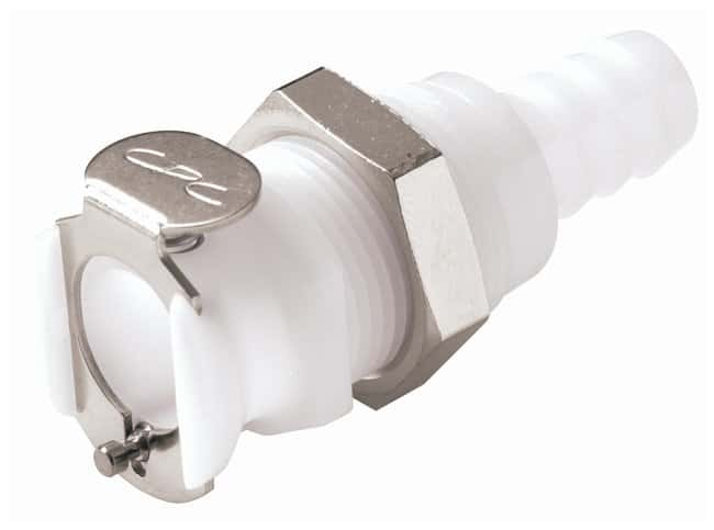 CPC Standard-Volume Quick-Disconnect Inline and Panel-Mount Hose-Barb Bodies:Pumps