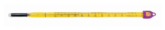 H-B Instrument Double-Safe PFA Safety Coated, Liquid-In-Glass Thermometers: