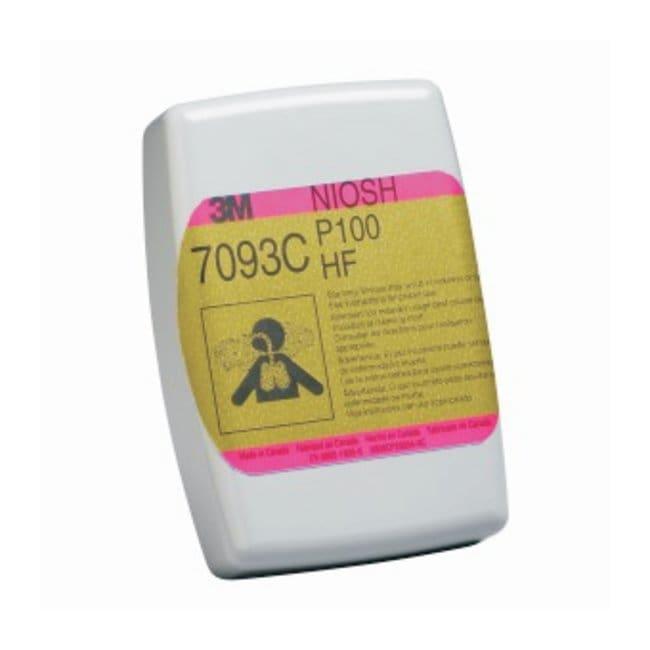 3M P100 Hydrogen Fluoride Cartridge/Filter (Style 7093C) Color coding: